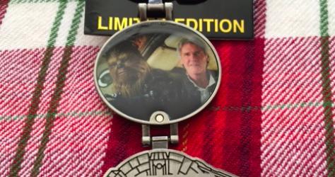 Disney Parks Surprise Star Wars Chewie We're Home Pin