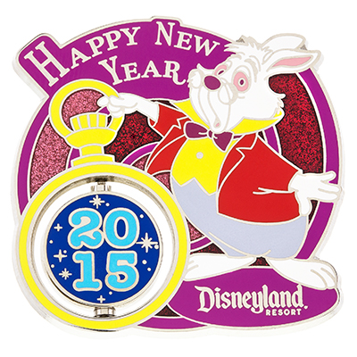 Disneyland New Year 2016 Pin
