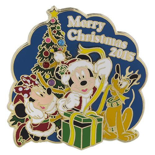 Merry Christmas 2015 Disney Pin