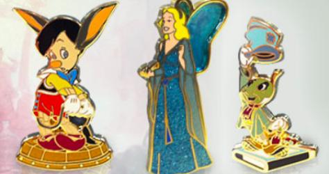 Pinocchio Pin Set