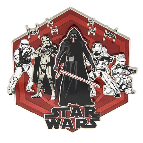 Star Wars First Order Jumbo Pin 2015
