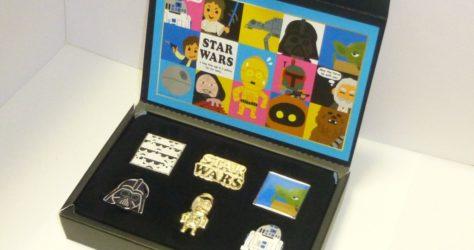 Star Wars Pin Set - Disney Store Japan