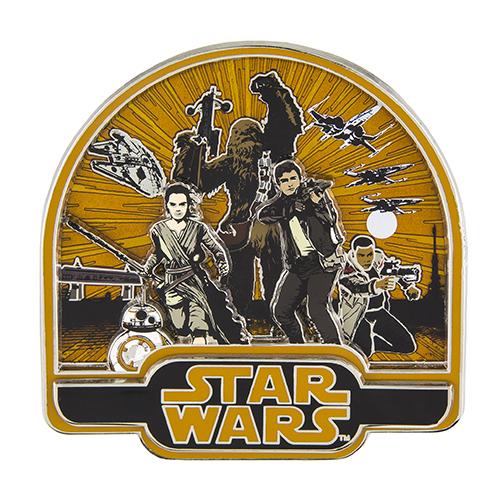 Star Wars Resistance Jumbo Pin 2015
