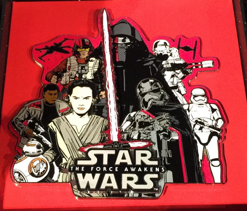 Star Wars Resistance and First Order Super Jumbo Pin