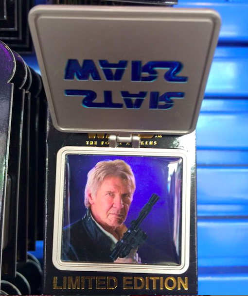 Star Wars Surprise Han Solo Pin Release