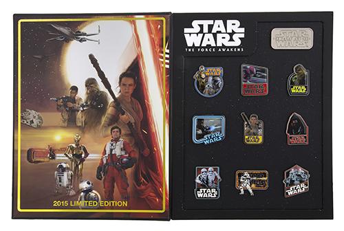 The Force Awakens Ten Pin Box Set 2015
