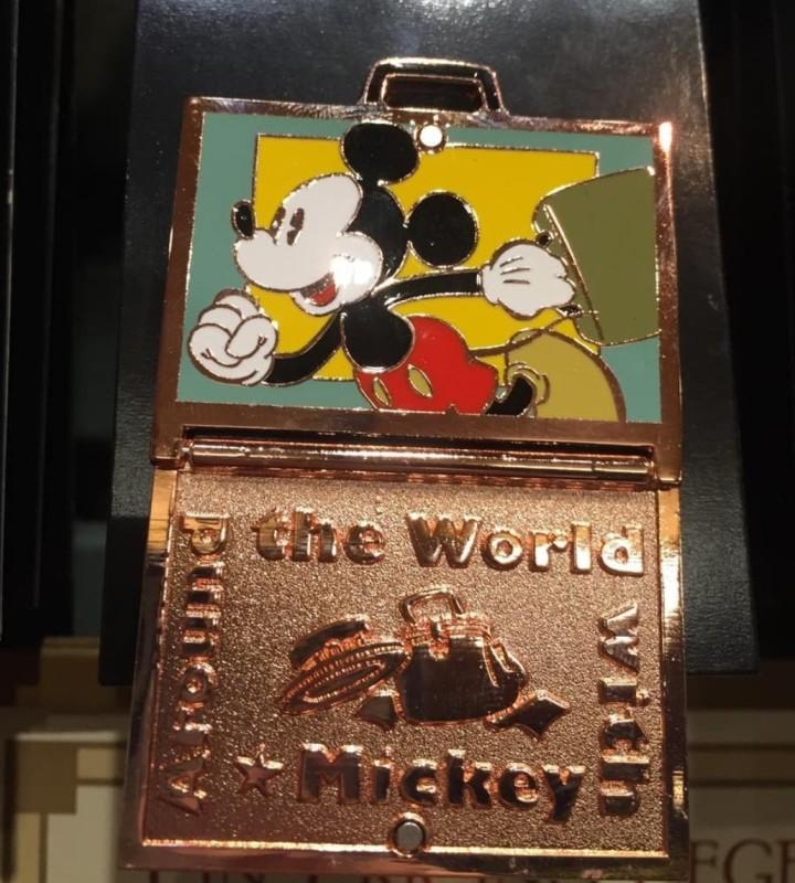 Around the World the Mickey Pin 2016