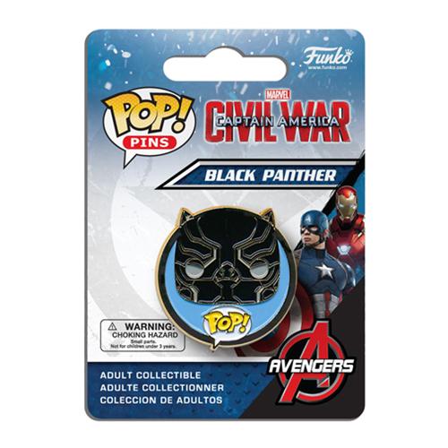 Civil War Black Panther Pop! Pin