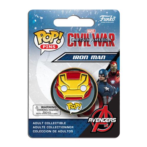 Civil War Iron Man Pop! Pin