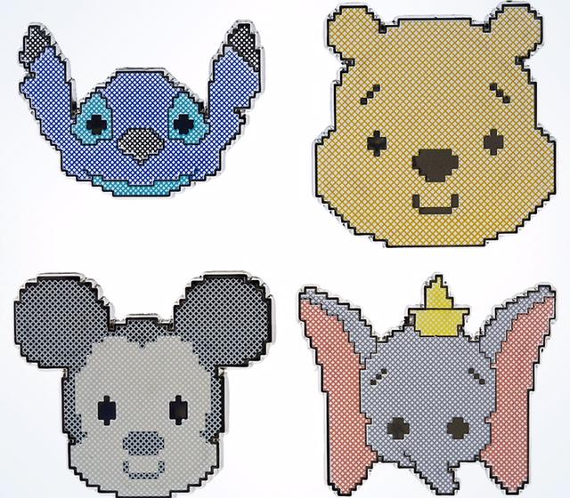 Cross Stitch Disney Pins