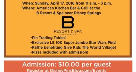 Disney Pins Blog Spring 2016 Gathering