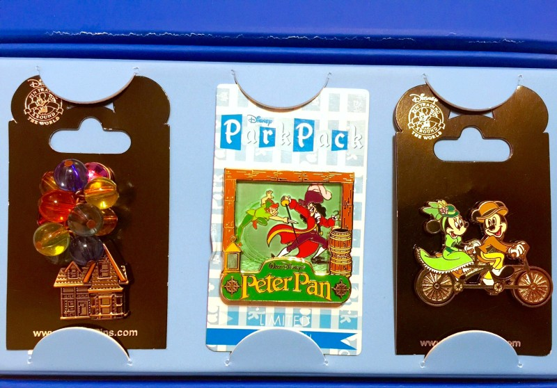 December 2015 Disney Park Pack Pins