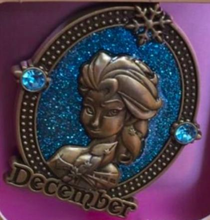 December Birthstone Disney Pin 2016