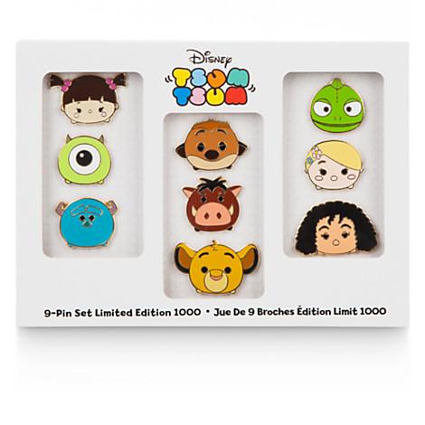 Disney Store Tsum Tsum Pin Set
