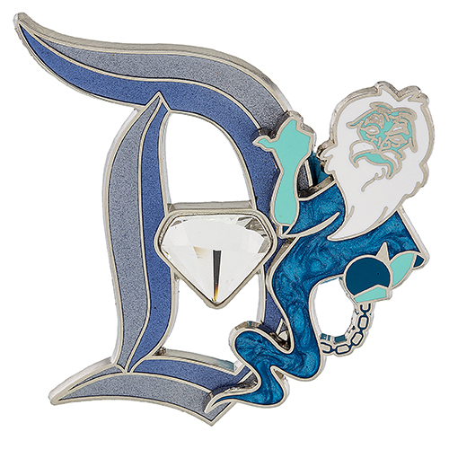 Disneyland Diamond D Hitchhiking Ghost Pin