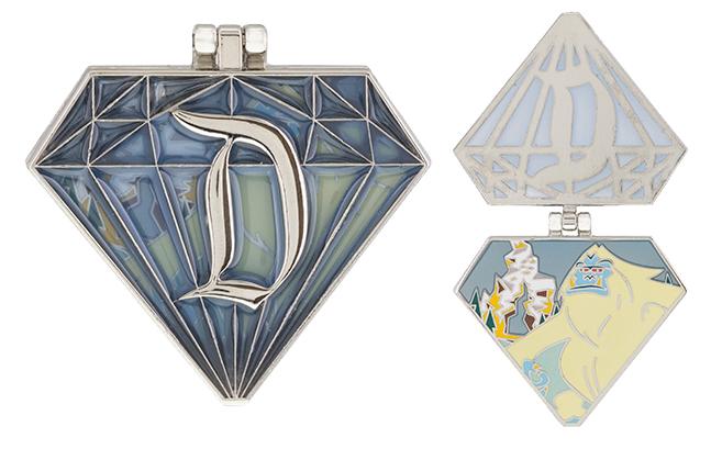 Disneyland Passholder Diamond Yeti Pin 2016