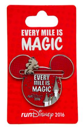 Every Mile is Magic Disney Pin 2016