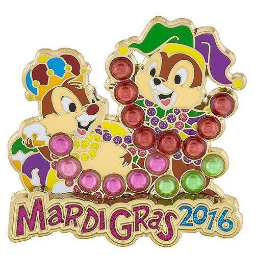 Mardi Gras 2016 Disney Pin