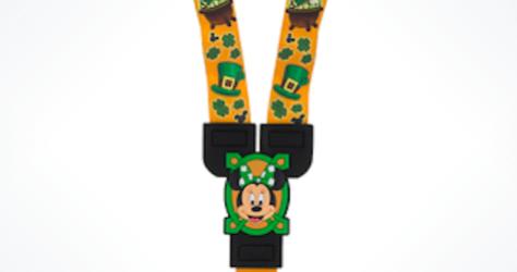 Minnie St. Patrick's Day Lanyard 2016