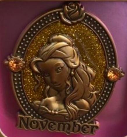 November Birthstone Disney Pin 2016
