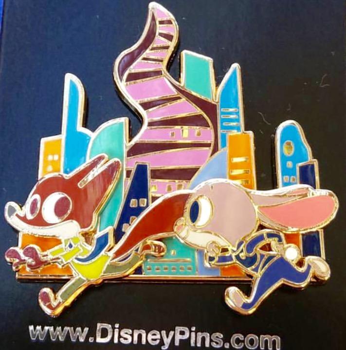 Open Edition Zootopia Disney Pin 2016