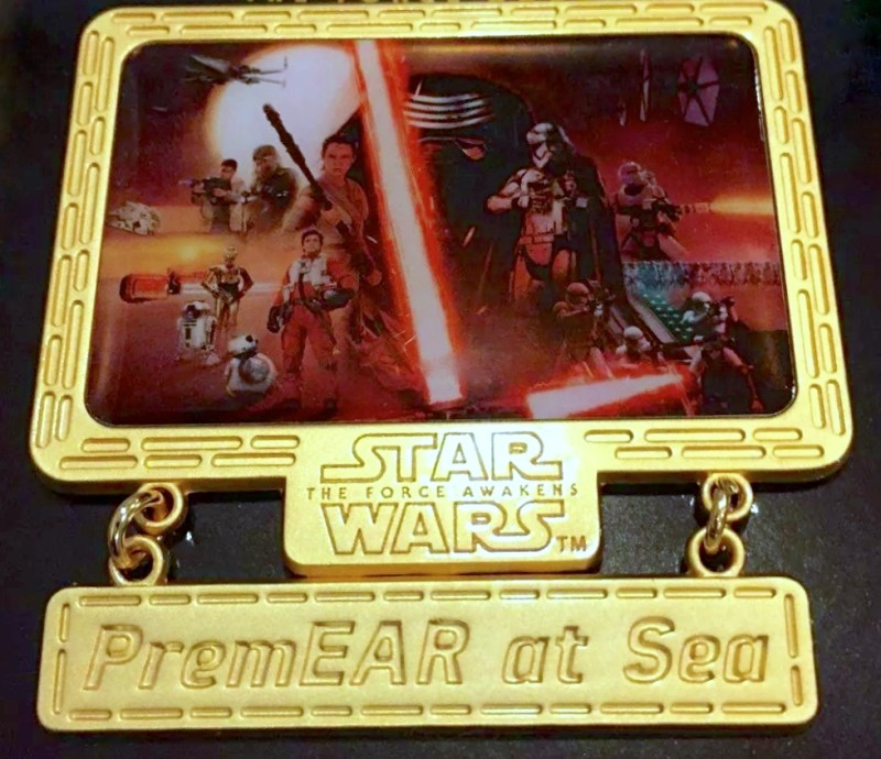 Star Wars PremEAR at Sea Pin