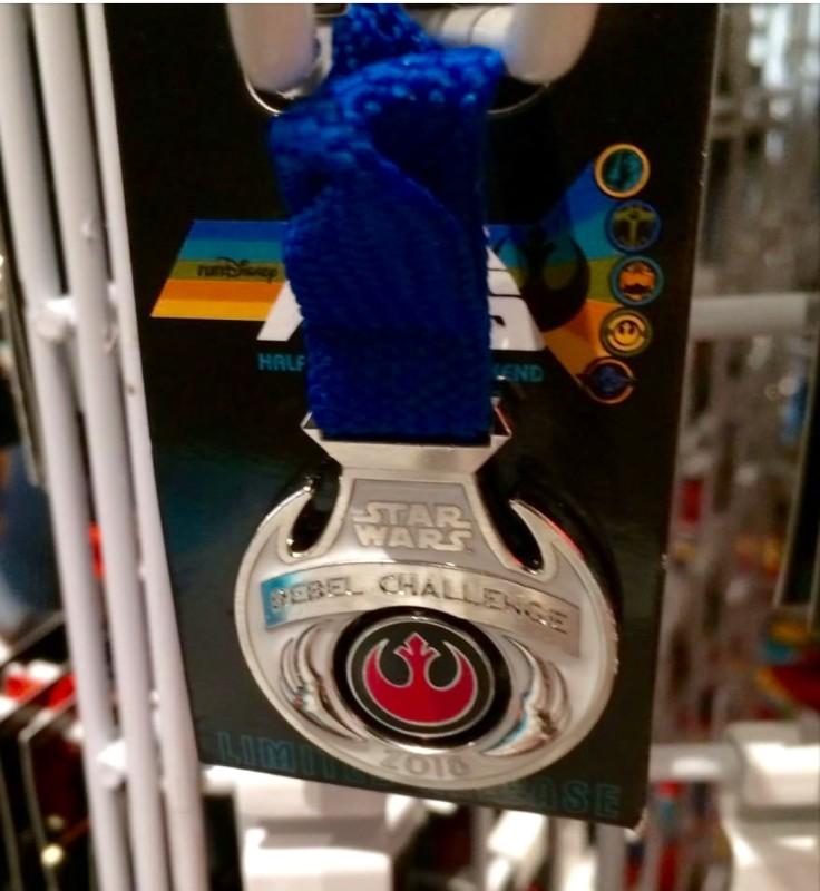 Star Wars Rebel Challenge Medal Pin 2016