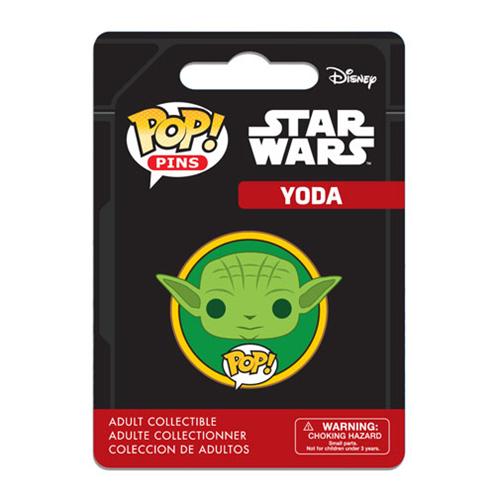 Star Wars Yoda Pop! Pin