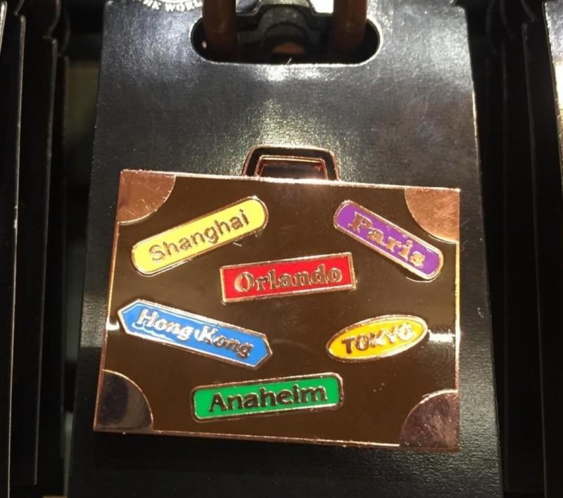 Suitcase Disney Pin 2016