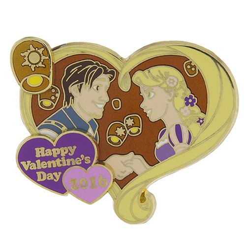 Tangled Valentine's Day 2016 Disney Pin