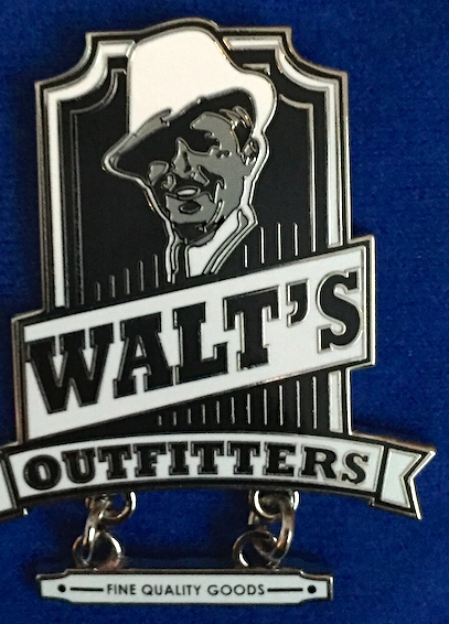 Walt's Outfitters Pin 2016