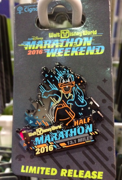 Walt Disney World Half Marathon Weekend 2016 Pin