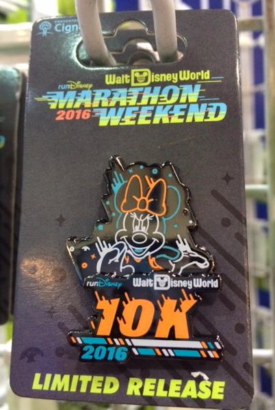 Walt Disney World Marathon Weekend 2016 10K Pin
