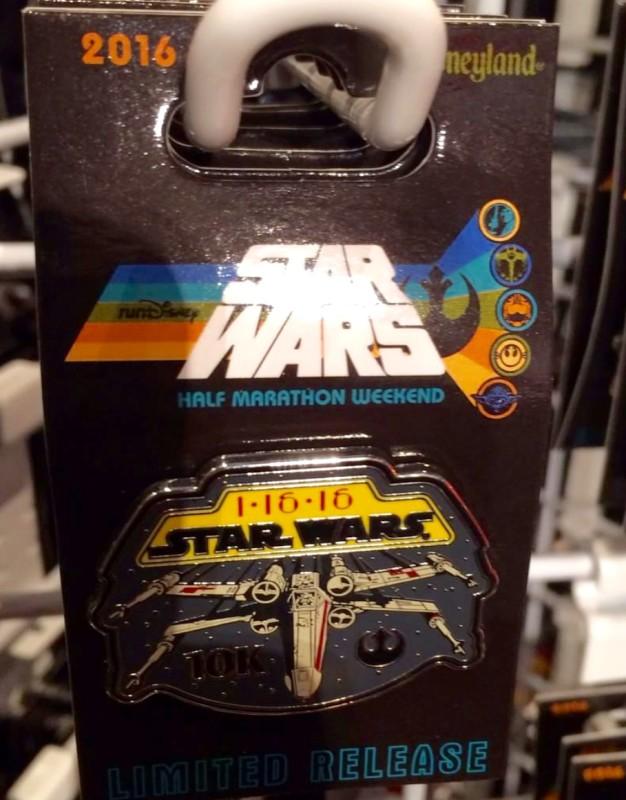 runDisney Star Wars 10K Pin 2016