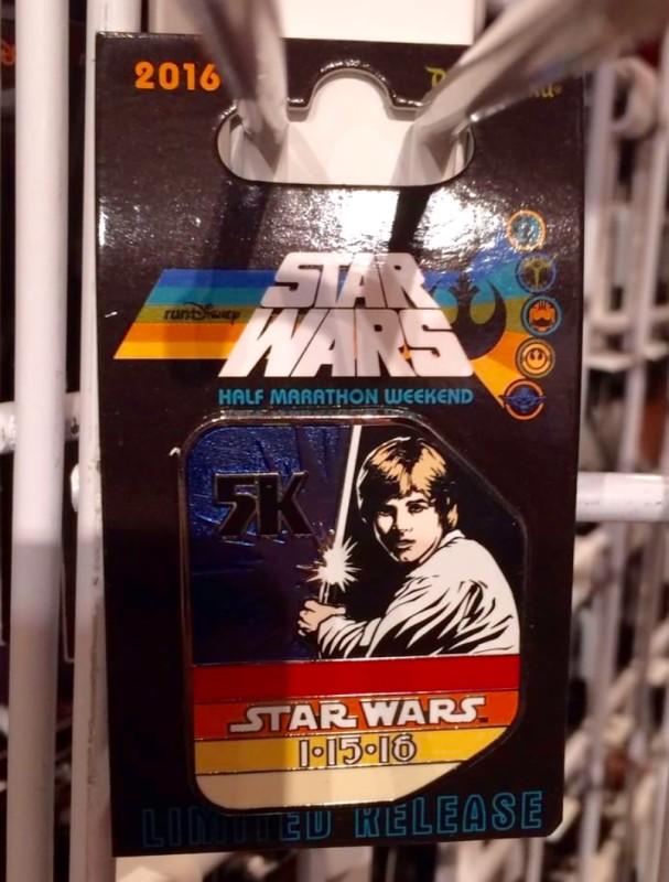 runDisney Star Wars 5K Pin 2016