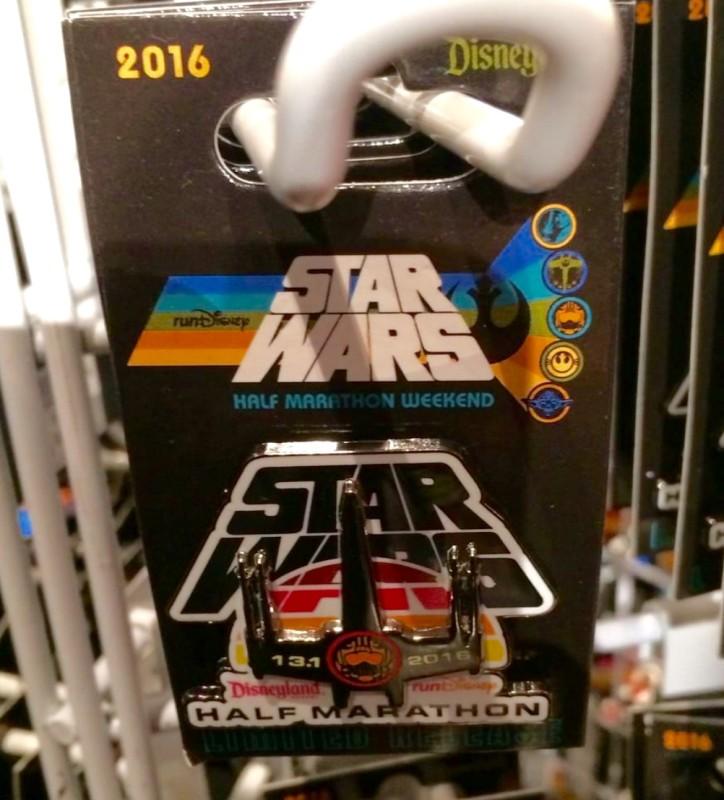 runDisney Star Wars Half Marathon Pin 2016