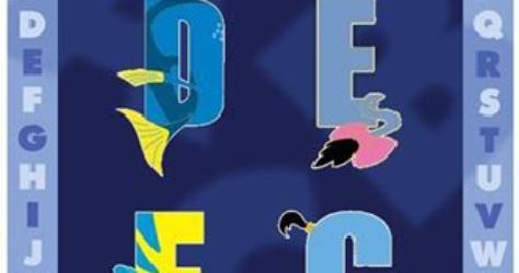 Alphabet Series #2 Disney Pins