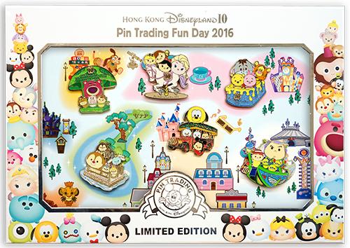Hong Kong Deluxe 6 Pins Box Set Attractions