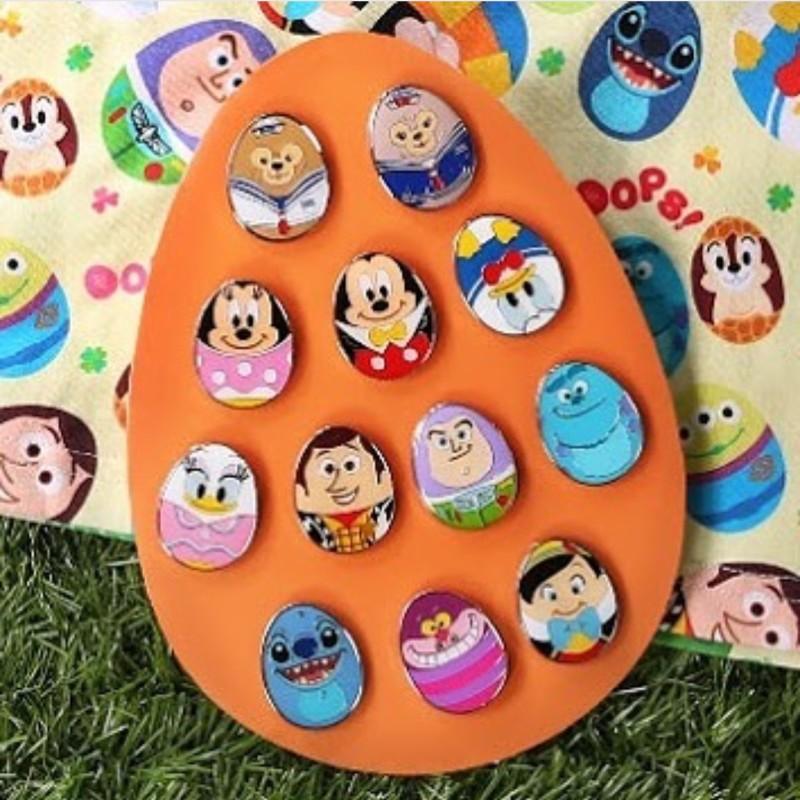 Hong Kong Disneyland Easter 2016 Egg Pins