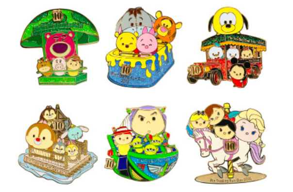 Pin Trading Fun Days 2016 Disney Pins Blog