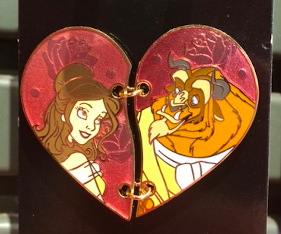 Stitched Heart Disney Pins Disney Pins Blog