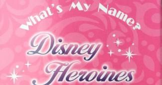 What's My Name Disney Heroines Pins