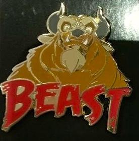 Beast Disney Pin 2016