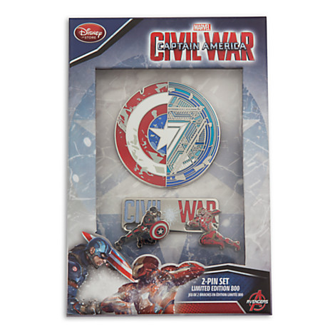 Captain America Civil War Limited Edition Pin Set