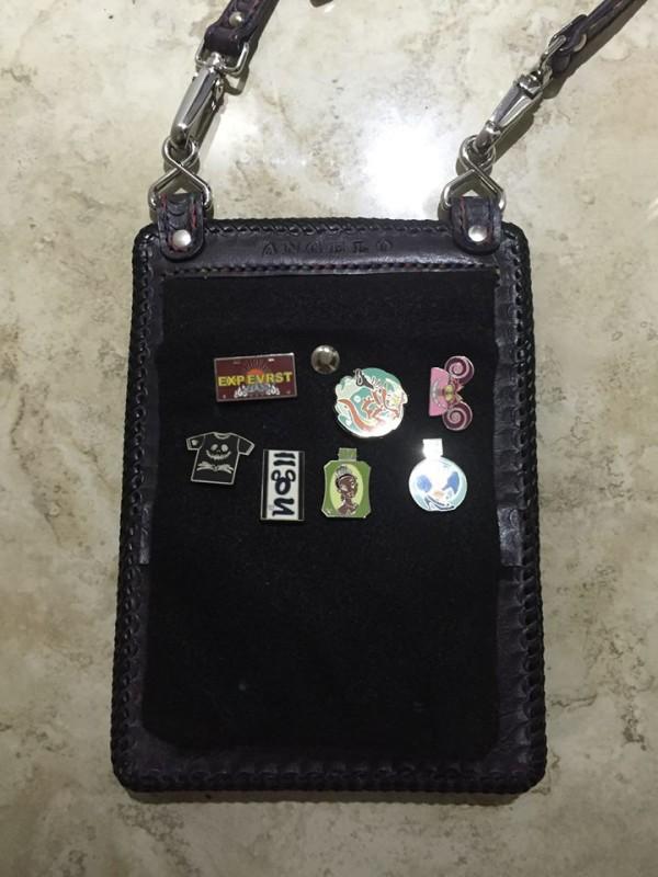 Custom Leather Pin Bag