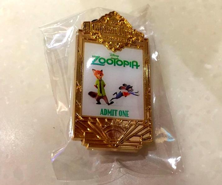 DSSH Zootopia Ticket Pin