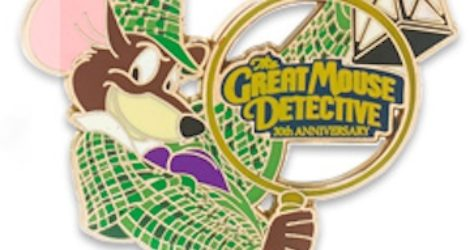 Great Mouse Detective Pin