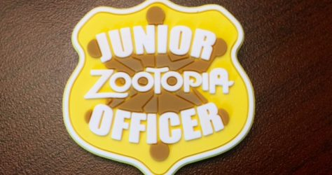 Junior Zootopia Officer Pin