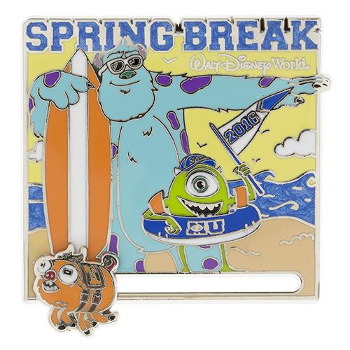 Monsters University Spring Break 2016 Pin