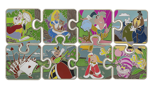 Pins Character Connection Alice in Wonderland